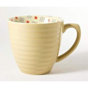 Paisley Stoneware, retro design Mug - Cordelia's House of Treasures