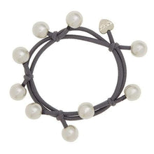 Pearl Cluster bangle band by Eloise London - women