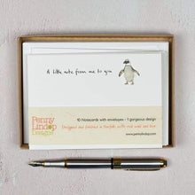 Penny Lindop Penguin Note cards - Cordelia's House of Treasures