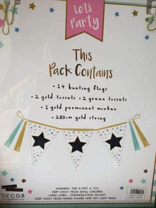 Personalise your own bunting - Cordelia's House of Treasures