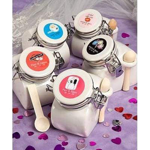 Personalised Expressions Collection Ceramic Jar Favors - wedding
