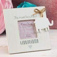 Petit Cheri Goddaughter Frame 19cm - Cordelia's House of Treasures