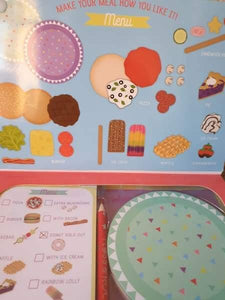 Play restaurant little girl gift box - complete gifting