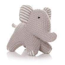 Plush Elephant Teddy - Cordelia's House of Treasures