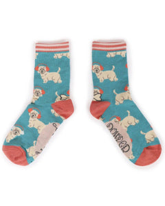 Powder Uk westie socks - Cordelia's House of Treasures