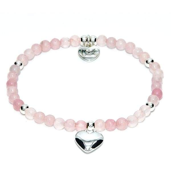 RIVIERA Semi Precious Bracelet - Rose Quartz - Cordelia's House of Treasures