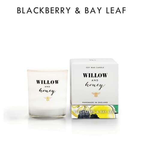 Room Odouriser - Blackberry & Bay Leaf Candle by Honey & Willow - home