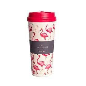 Sara Miller Flamingo Travel Flask - Cordelia's House of Treasures