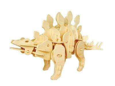 Sound Controlled Stegosaurus 3D Puzzles - Cordelia's House of Treasures