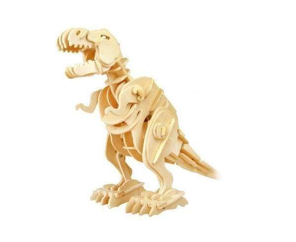 Sound Controlled T-Rex 3D Dinosaur Toys Kit - Cordelia's House of Treasures