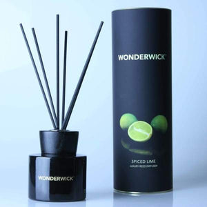 Spiced Lime Noir Reed Diffuser  WONDERWICK™ - Cordelia's House of Treasures