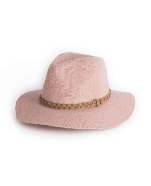 Stylish Powder Pale Pink Katie Hat - Cordelia's House of Treasures