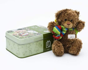 Teddy in a Tin Travel Teddy Bear - children
