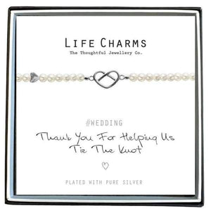Thank You For Helping Us Tie The Knot - Life Charms - group one