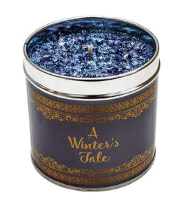The best christmas candles with added sparkle great xmas gifts with unique combinations of fragrances - a winters tale - Christmas