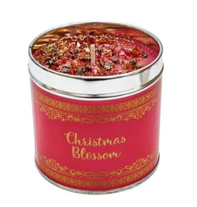 The best christmas candles with added sparkle great xmas gifts with unique combinations of fragrances - christmas blossom - Christmas