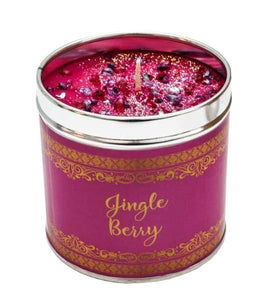 The best christmas candles with added sparkle great xmas gifts with unique combinations of fragrances - Jingle berries - Christmas