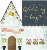 Wedding card beautiful design - stationery. group four