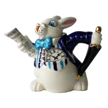 White Rabbit. Alice and Wonderland Tea Pot - Cordelia's House of Treasures