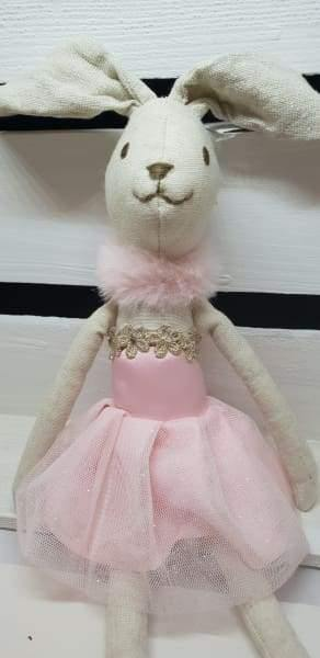 Wilberry ballerina Bunny , with tutu - Cordelia's House of Treasures