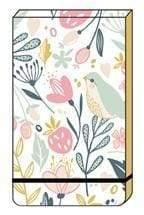 Wildberry stationery flip over note book. A6 size. - stationery