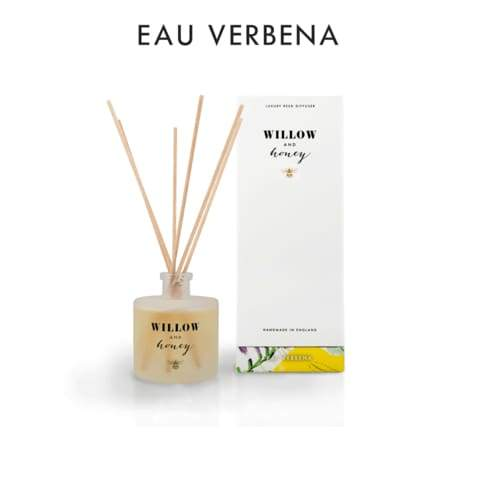 Willow And Honey - 200ML Eau Veberna Reed Diffuser - Cordelia's House of Treasures