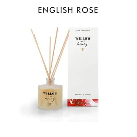 Willow And Honey - 200ML English Rose Reed Diffuser - home