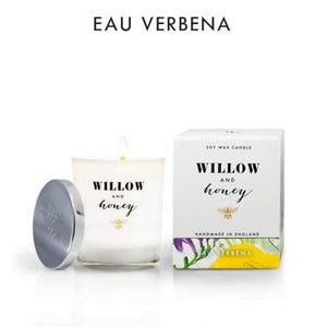 Willow And Honey - 220g Eau Verbena Candle - home