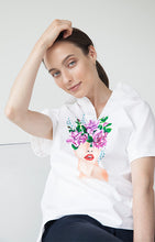 Load image into Gallery viewer, Bloom Short Sleeved Shirt - Goreea Designs