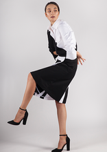 Load image into Gallery viewer, Parallel Wrap Skirt (Originally $199) - Goreea Designs