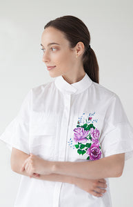 Efflorescence Shirt - Goreea Designs