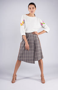 Goreea Kilt Mid-Length Wrap Skirt - Goreea Designs