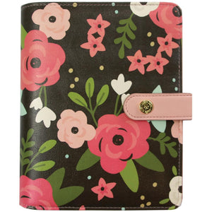 Carpe Diem Personal Planner Boxed Black Blossom, Bloom