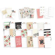 Load image into Gallery viewer, Carpe Diem Personal Planner Boxed Black Blossom, Bloom