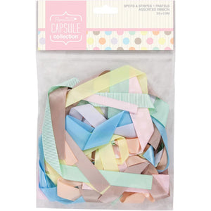 PAPERMANIA SPOTS & STRIPES PASTEL RIBBON COLLECTION