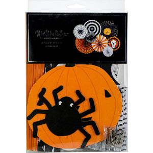 HWP601 My Mind's Eye Halloween Party Fans 8/Pkg