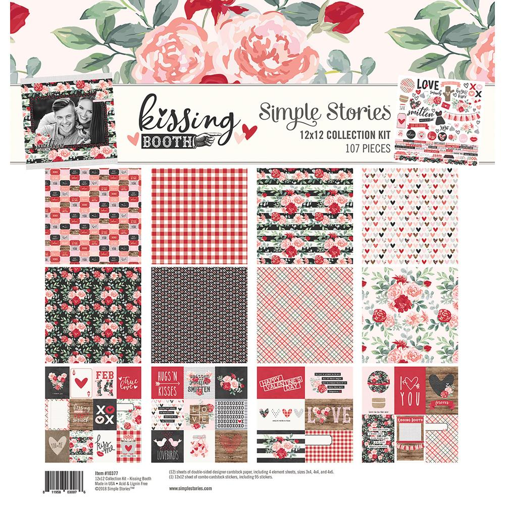 KISSING BOOTH Simple Stories Collection Kit 12