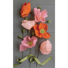 Load image into Gallery viewer, Crepe Paper Flower Kit
