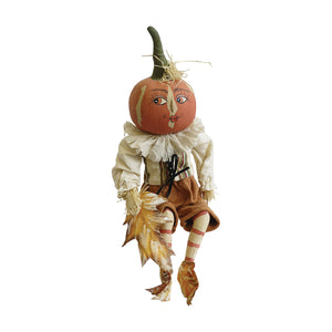 C&F Home - Peter Pumpkin Joe Spencer Gathered Traditions Art Doll