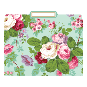 Anna Griffin - Amelie Floral File Folders