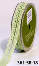 Load image into Gallery viewer, Ribbon 5/8 Inch Crochet