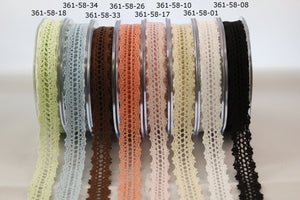 Ribbon 5/8 Inch Crochet