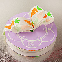 "Ribbon 7/8"" X 25Yd Carrot Printed Easter Ribbon"