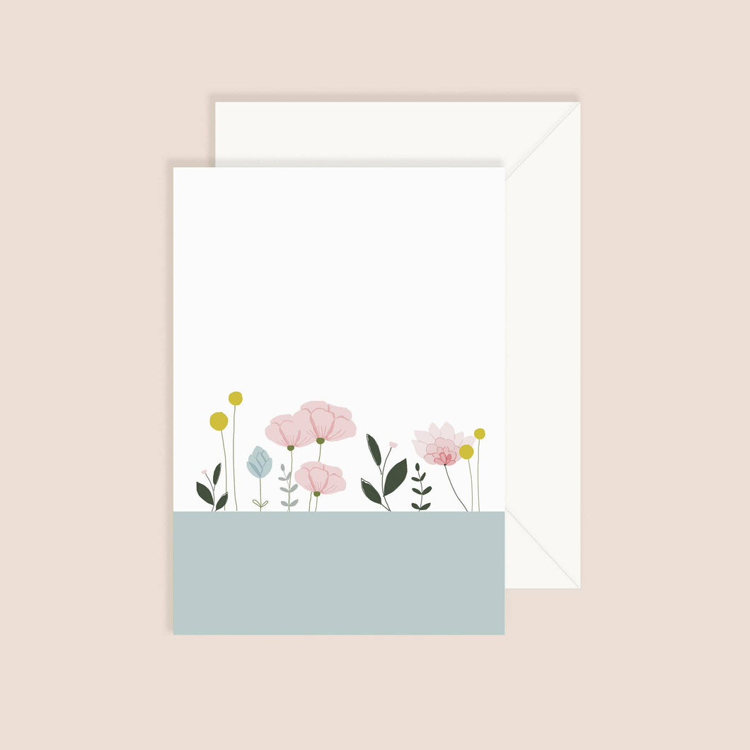 MY LOVELY THING - Garden On The Water Card