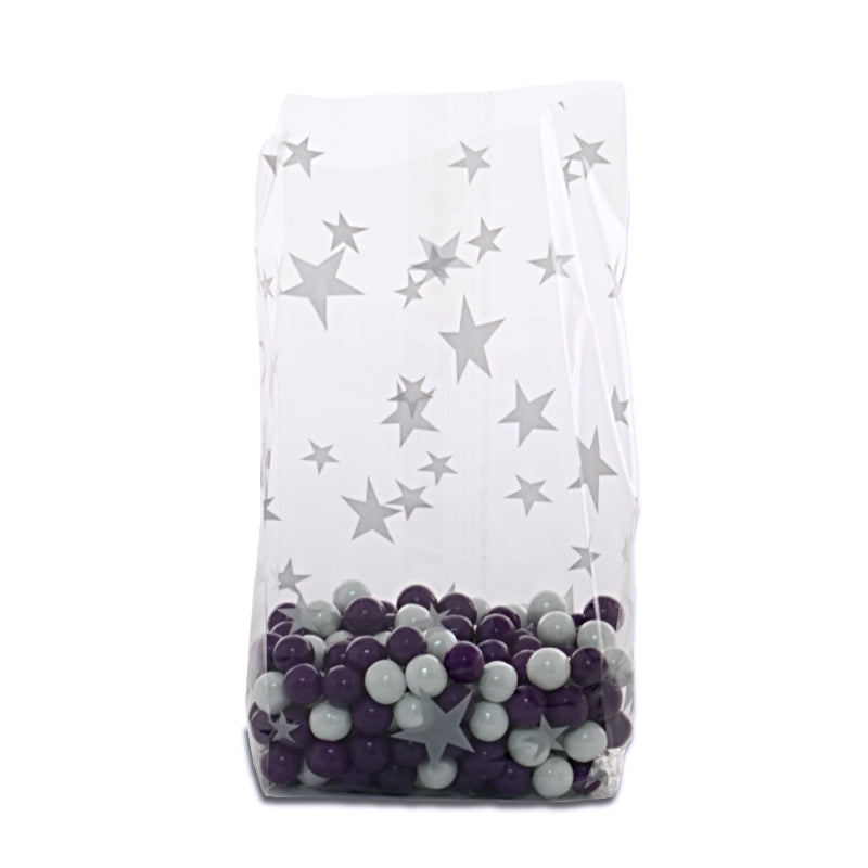 Cellophane bags star pattern
