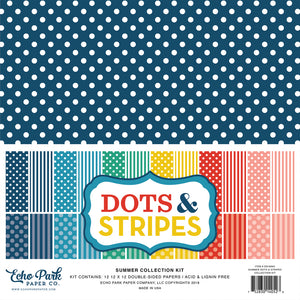DS180163 - Summer Dots & Stripes Collection Kit