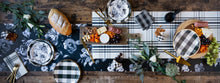 Load image into Gallery viewer, GFP720 - GINGHAM FARM PLAID TABLE RUNNER
