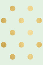 Load image into Gallery viewer, PGW302- Trend Wrapping Paper Mint with Gold Foil