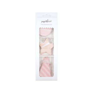 PLCP25 PAPER LOVE MINI BANNER SET