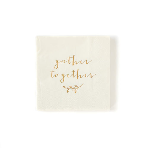 -PLHT39A - GATHER TOGETHER COCKTAIL NAPKIN